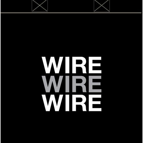 Wire - WIRE tote bag - black