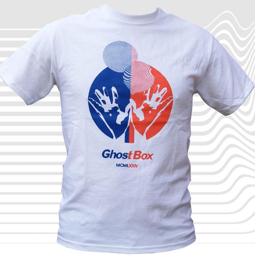 Ghost Box Two Colour T-Shirt, White