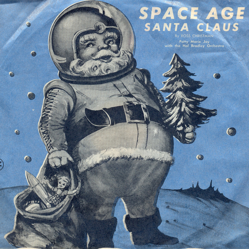 Pattie Marie Jay with the Hal Bradley Orchestra - Space Age Santa Claus