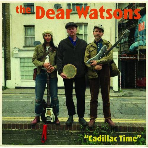 "Billy Childish, The Dear Watsons, Wild Billy Childish - The Dear Watsons - Cadillac Time 12"" (GREEN VINYL)"
