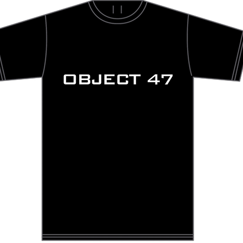 Wire - Object 47 t-shirt (white text)