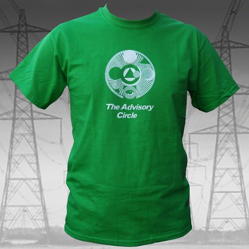 The Advisory Circle - The Advisory Circle - White on Green T Shirt