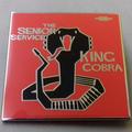The Senior Service - King Cobra ENAMEL BADGE (ORANGE)
