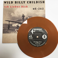 """CTMF - Ich Lieber Dich / ME-242 - Limited edition BROWN VINYL 7"""" on Squoooge Records, Germany"""