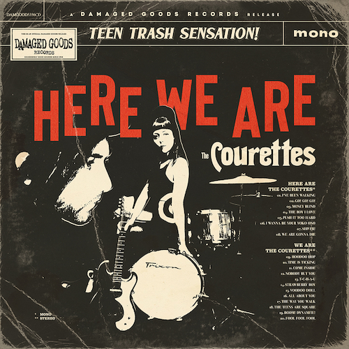 The Courettes - Here We Are The Courettes (CD)