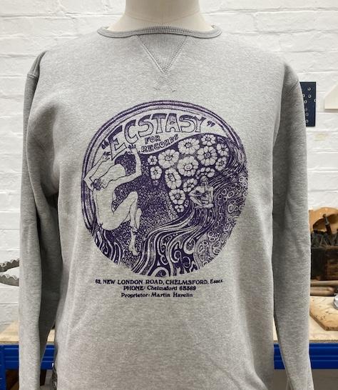 Ecstasy For Records Sweatshirt