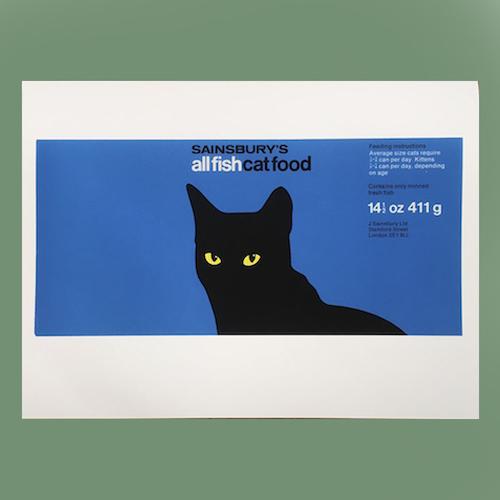 Sainsbury's Cat Food Print