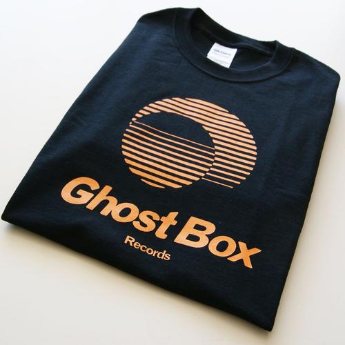 Ghost Box T Shirt (Black & Amber)