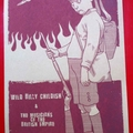 Billy Childish & The MBE's - End Of The Road 2008 Festival poster (brown card)