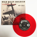 """CTMF - Ich Lieber Dich / ME-242 - Limited edition RED VINYL 7"""" on Squoooge Records, Germany"""