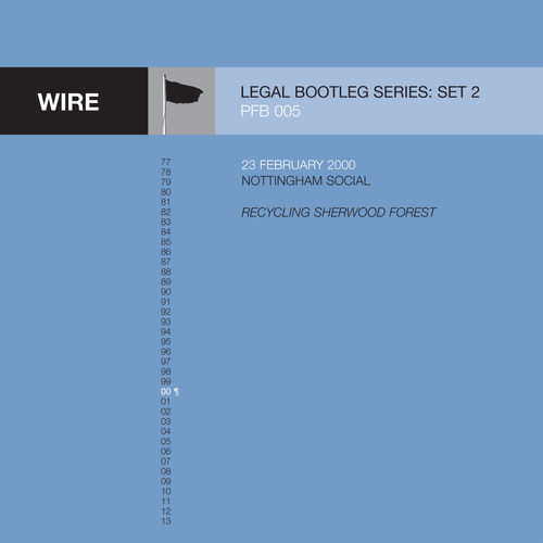 Wire - The Wire Legal Bootleg Series 2 - subscription