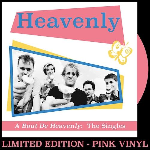 Heavenly - A Bout De Heavenly: The Singles - PINK VINYL LP