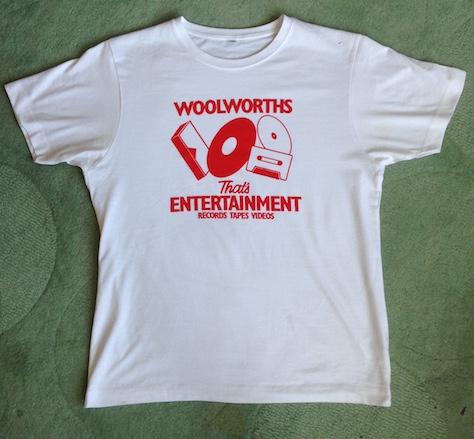 Woolies That's Entertainment Tee Shirt