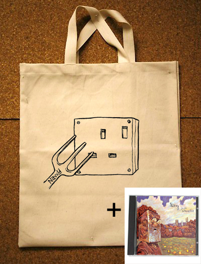 Navvy - Idyll Intangible + Canvas Shopper