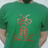 Vision On t-shirt green