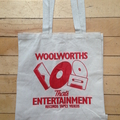 New Old Woolies That's Entertainment Tote!!!