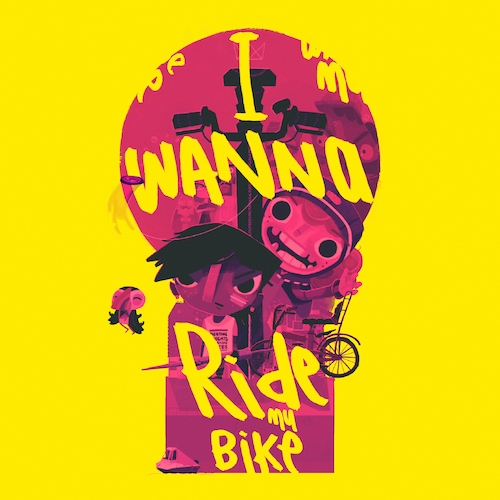 The Daniel Pemberton TV Orchestra feat. Winter - I Wanna Ride My Bike (From the Videogame 'Knights And Bikes')