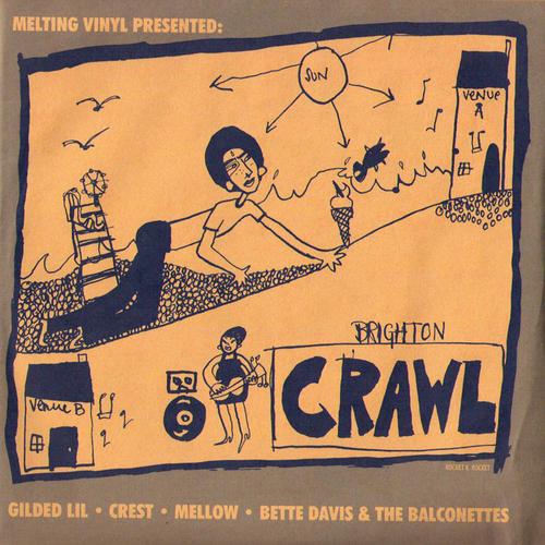 "Various Artists - Brighton Crawl EP - 7"" (Various Artists)"