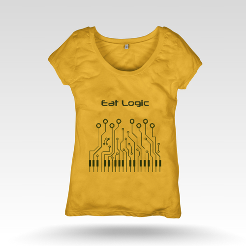 Lady's Yellow T Shirt