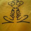 Vision On T Shirt Eggy Weggy and black