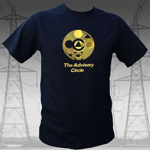 The Advisory Circle - Yellow on Black T Shirt