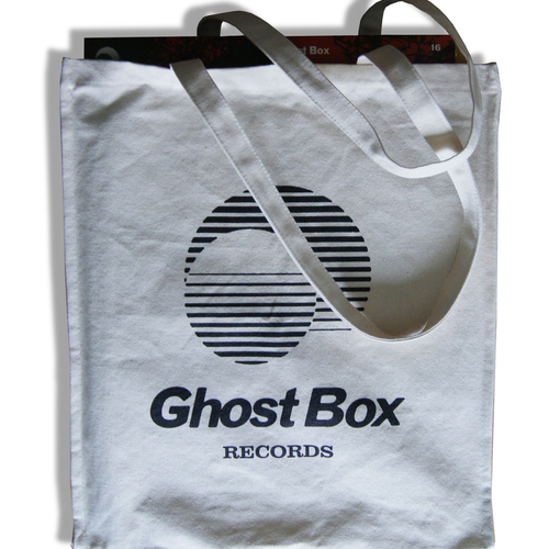 Ghost Box Tote Bag (heavy duty / natural canvas)
