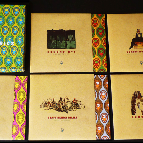 Staff Benda Bilili, Kasai Allstars, Konono No.1 - Congotronics Vinyl Box Set