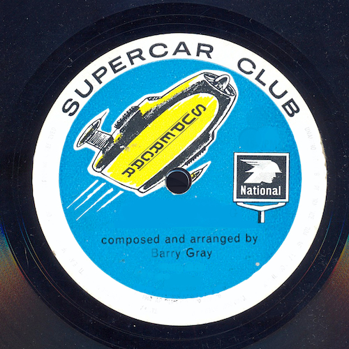 Barry Gray - Supercar Club (From National Garages)