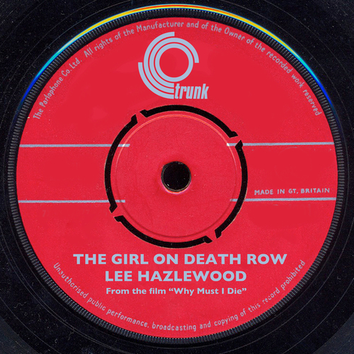 """Lee Hazlewood - Girl On Death Row (From The Film """"Why Must I Die"""")"""