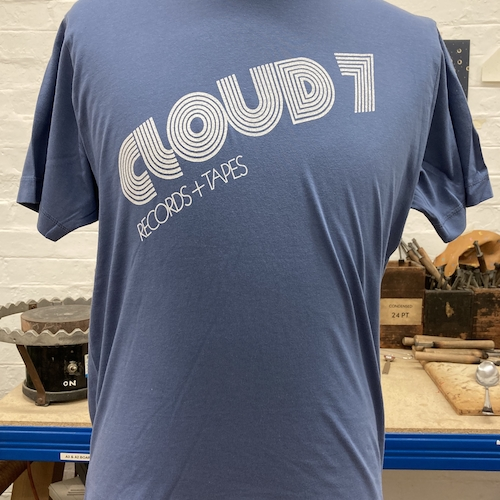 CLOUD 7 RECORDS AND TAPES TEE