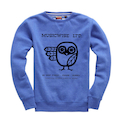 MUSICWISE OWL SWEAT IN BLUE