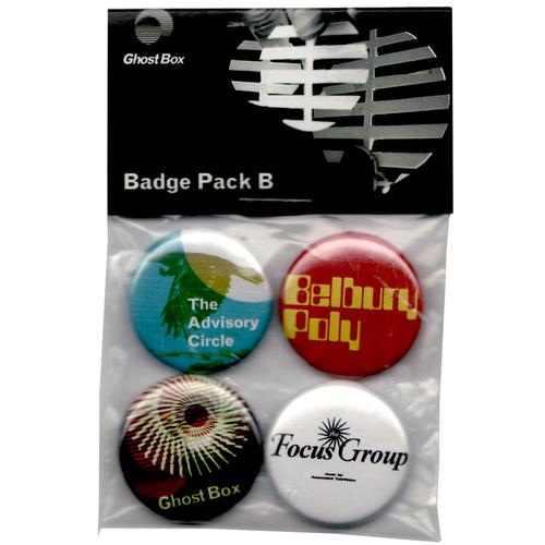 Ghost Box Badge Pack B