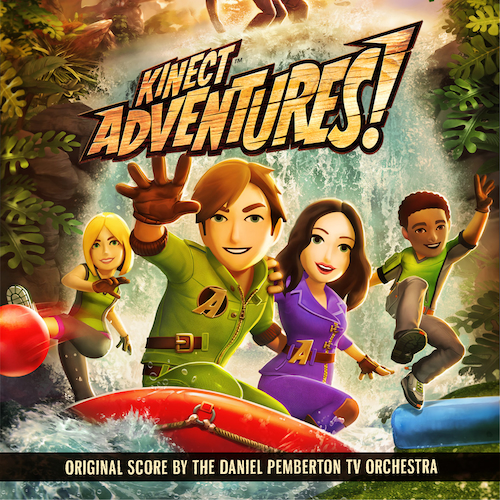 The Daniel Pemberton TV Orchestra - Kinect Adventures: Original Score From The XBOX 360 Videogame
