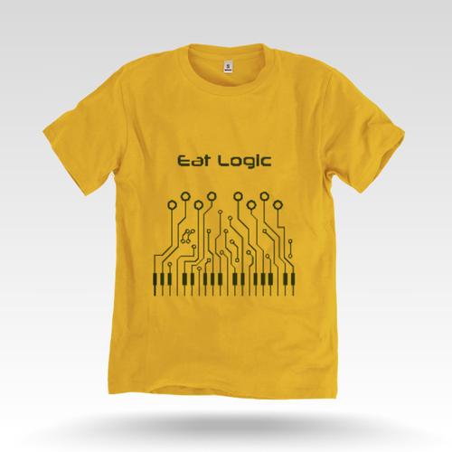 Men's Yellow T Shirt