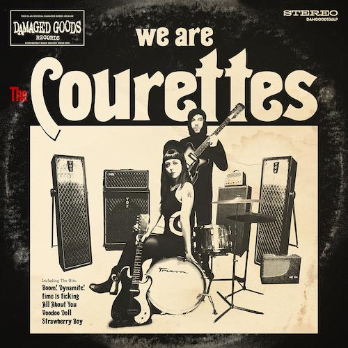 The Courettes - We Are The Courettes (RED VINYL LP)