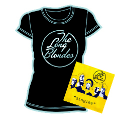 """The Long Blondes - """"Singles"""" + Skinny T-Shirt"""