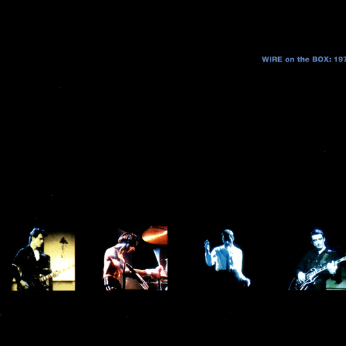 Wire - WIRE On The Box: 1979 DVD/CD