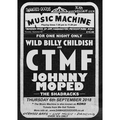 30th Anniversary Limited Edition gig poster