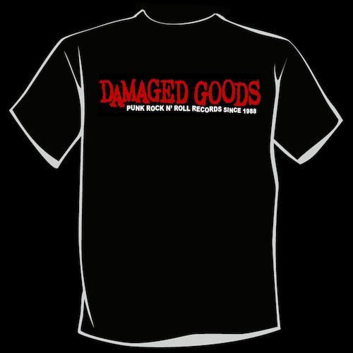 Damgaged Goods PUNK ROCK n' ROLL T-Shirt