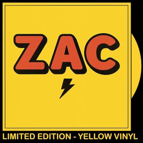 ZAC - ZAC - YELLOW VINYL LP