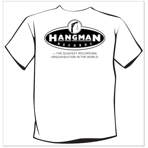 Billy Childish - Hangman Records Logo T-Shirt