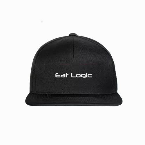 Baseball cap with Eat Logic logo