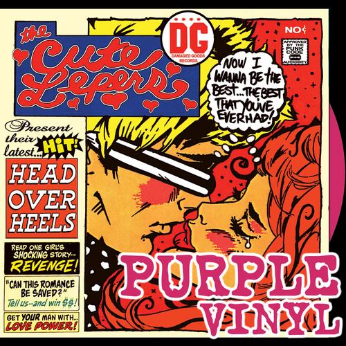 The Cute Lepers - Head Over Heels (Purple Vinyl)