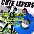 The Cute Lepers - Smart Accessories LP - Blue/black splatter  Vinyl