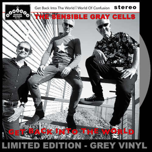"""The Sensible Gray Cells - Get Back Into The World - GREY VINYL 7"""""""
