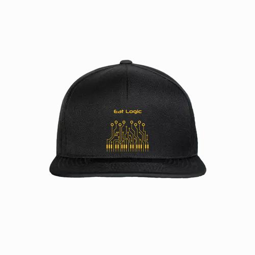 Baseball cap with EP design